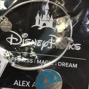 Disney Parks Alex and Ani Elsa bracelet